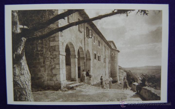 POSTAL DE BRIVIESCA (BURGOS). SANTUARIO DE SANTA CASILDA. ARCOS DE ENTRADA A LA GRUTA DE LA SANTA. (Postales - España - Castilla y León Moderna (desde 1940))