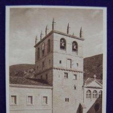 Postales: POSTAL DE BUJEDO (BURGOS). LA TORRE. FOTOS H. TARSICIO. AÑOS 40. COLOR SEPIA. Lote 42028155
