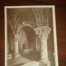 Postales: ANTIGUA FOTO LEÓN. SAN ISIDORO. PANTEÓN DE LOS REYES. EXPLICACIÓN EN EL REVERSO. C1920. Lote 42248021