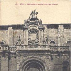 Postales: PS3990 LEÓN 'FACHADA PRINCIPAL DE SAN ISIDORO'. MAXIMINO A. MIÑÓN. SIN CIRCULAR. Lote 42346093