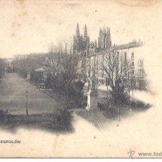 Postales: PS4080 BURGOS 'PASEO DEL ESPOLÓN'. COLECCIÓN D'ASLOC. SIN CIRCULAR. Lote 42385631