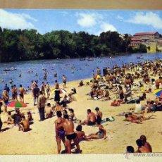 Postales: POSTAL, TARJETA POSTAL, VALLADOLID, RIO PISUERGA PLAYA ARTIFICIAL, GARRABELLA. Lote 42472755