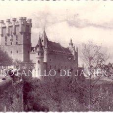 Postales: SEGOVIA - FACHADA PRINCIPAL DEL ALCAZAR. Lote 42618202