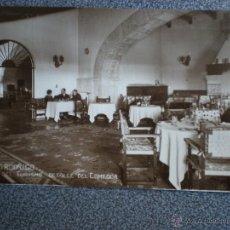 Postales: CIUDAD RODRIGO SALAMANCA HOTEL DEL TURISMO POSTAL FOTOGRÁFICA ANTIGUA. Lote 42695928