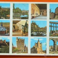 Postales: SEGOVIA - VARIOS ASPECTOS - EDICIONES RO FOTO - Nº 827. Lote 42827078