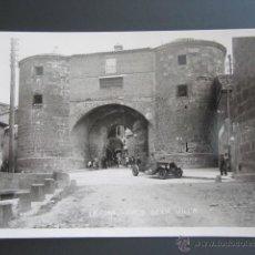 Postales: POSTAL FOTOGRÁFICA BURGOS, LERMA. ARCO DE LA VILLA. Lote 42984082