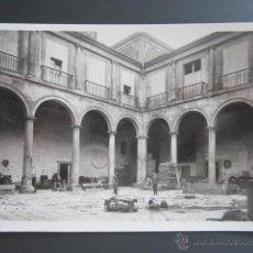 Postales: POSTAL FOTOGRÁFICA BURGOS, LERMA. PATIO DEL PALACIO. Lote 42984461