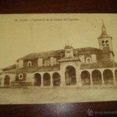 Postales: ANTIGUA POSTAL DE LEÓN. SANTUARIO DE LA VIRGEN DEL CAMINO. Nº30. EDIC. PEPE GRACIA. SIN CIRCULAR. Lote 43075586