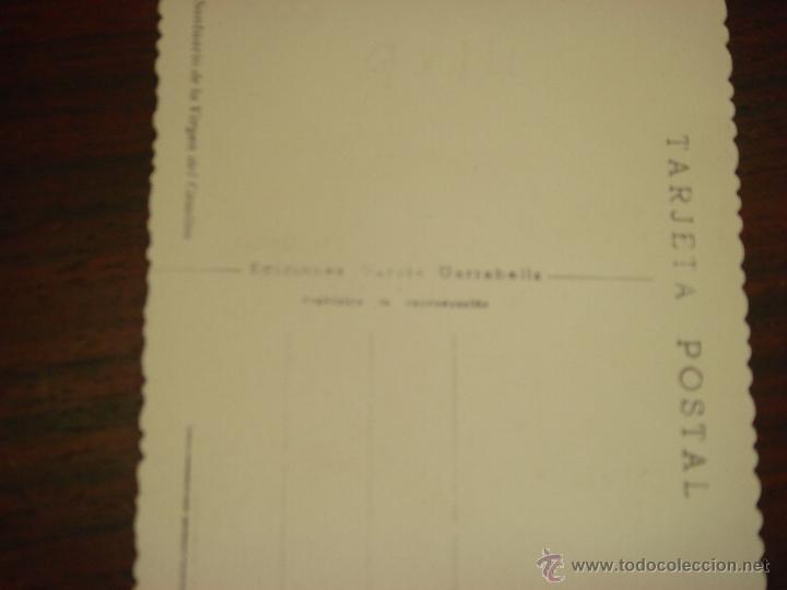 Postales: ANTIGUA POSTAL DE LEÓN. SANTUARIO DE LA VIRGEN DEL CAMINO. Nº49.EDIC. GRACIA GARRABELLA.SIN CIRCULAR - Foto 3 - 43075747