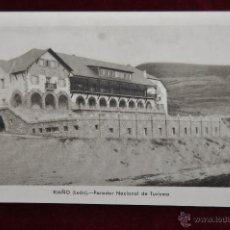 Postales: ANTIGUA POSTAL DE RIAÑO. LEON. PARADOR NACIONAL DE TURISMO. SIN CIRCULAR. Lote 43236118