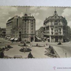 Postales: LEON VISTA PARCIAL DE LA PLAZA DE STO. DOMINGO 129. Lote 43300754