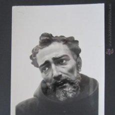 Postales: POSTAL LEÓN. MUSEO DE SNA MARCOS. CABEZA DE SAN FRANCISCO. . Lote 43478665