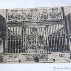 Cartes Postales: POSTAL BURGOS - MONASTERIO DE LAS HUELGAS - REJA DE DOÑA ANA DE AUSTRIA. Lote 43674733