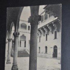 Postales: ANTIGUA POSTAL DE SALAMANCA. PATIO DE LA DIPUTACION. FOTPIA. HAUSER Y MENET. CIRCULADA. Lote 43841364