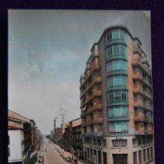 Postales: POSTAL COLOREADA DE MIRANDA DE EBRO (BURGOS) - CALLE DE VITORIA. EDICIONES PARIS. AÑOS 50.. Lote 43852767