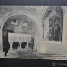 Postales: ANTIGUA POSTAL DE SALAMANCA. CATEDRAL VIEJA, SEPULCRO DEL CLAUSTRO. SIN CIRCULAR. Lote 43888380