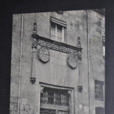 Postales: ANTIGUA POSTAL DE SALAMANCA. CASA DE LOS MALDONADO. FOTPIA. THOMAS. SIN CIRCULAR. Lote 51918832