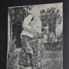 Postales: ANTIGUA POSTAL DE SALAMANCA. CHARRA. FOTPIA. THOMAS. SIN CIRCULAR. Lote 43888697