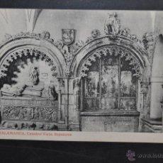 Postales: ANTIGUA POSTAL DE SALAMANCA. CATEDRAL VIEJA, SEPULCROS. FOTPIA. THOMAS. SIN CIRCULAR. Lote 43888987