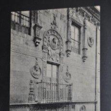 Postales: ANTIGUA POSTAL DE SALAMANCA. CASA DE LAS MUERTES. FOTPIA. THOMAS. SIN CIRCULAR. Lote 43889065