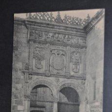 Postales: ANTIGUA POSTAL DE SALAMANCA. ENTRADA DEL INSTITUTO. FOTPIA. THOMAS. SIN CIRCULAR. Lote 43889174
