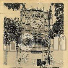 Postales: VALLADOLID. FACHADA DE SAN GREGORIO - 584 HAUSER Y MENET. Lote 44032972
