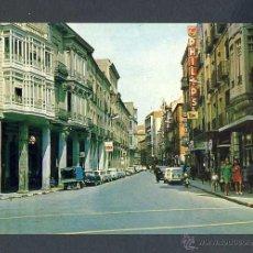 Cartoline: POSTAL DE PALENCIA: CALLE MAYOR. SEAT 600 (ED. FITER). Lote 44066942