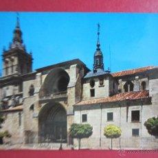 Postales: BURGO DE OSMA. SORIA. CATEDRAL.. Lote 44138654