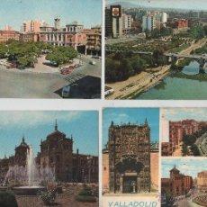 Postales: POSTALES-LOTE DE 5 TARJETAS DE VALLADOLID. Lote 44173147