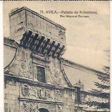 Postales: ANTIGUA POSTAL 71 AVILA PALACIO DE POLENTINOS FOT MAYORAL ENCINAR. Lote 44180871