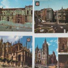 Postales: POSTALES-LOTE DE 9 TARJETAS DE LEON (VER FOTOS). Lote 44208184