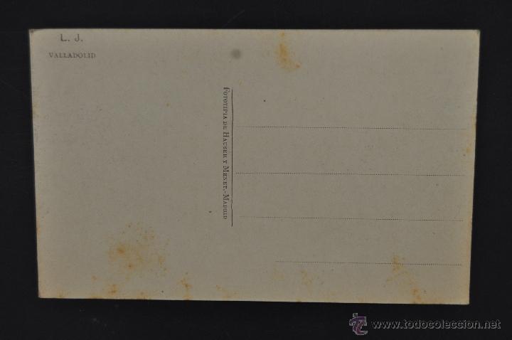 Postales: ANTIGUA POSTAL DE VALLADOLID. CALLE DE ALFONSO XII. FOTPIA. HAUSER Y MENET. SIN CIRCULAR - Foto 2 - 51640469