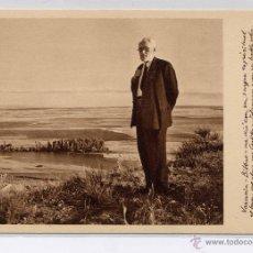 Postales: JUBILACIÓN DEL MAESTRO DE LA UNIVERSIDAD DE SALAMANCA, DON MIGUEL DE UNAMUNO- 29-IX-1934. Lote 44264721