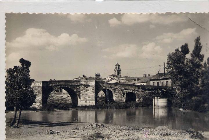 sahagún (león).- puente canto (siglo xvi) - Comprar Postales de Castilla y  León en todocoleccion - 44264913
