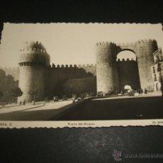 Postales: AVILA PUERTA DEL ALCAZAR. Lote 44410286
