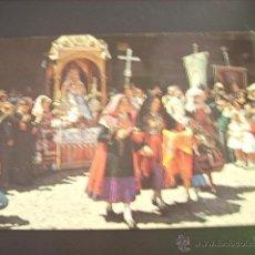 LA ALBERCA (SALAMANCA) OFRECIMIENTO DE UNA FAMILIA ALBERCANA