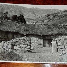 Postales: FOTOGRAFIA DE LEON, CASAS DE LA MONTAÑA LEONESA, MIDE 17,5 X 11,5 CMS. FOTOGRAFIA DEL MARQUES DE SAN. Lote 45037157
