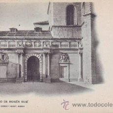 Postales: AVILA. CONVENTO DE MOSÉN RUBÍ. A. CÁNOVAS FOT.. Lote 45116765