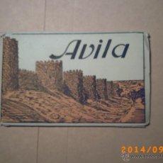 Postales: DESPLEGABLE ÁVILA - SEGUNDA SERIE - HELIOTIPIA ARTÍSTICA ESPAÑOLA- CARPETA POSTALES 12-. Lote 45173509