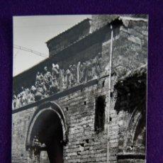 Postales: POSTAL DE CARRION DE LOS CONDES (PALENCIA). Nº5 PORTADA DE SANTIAGO. EDIC SICILIA. AÑOS 50.. Lote 45229478