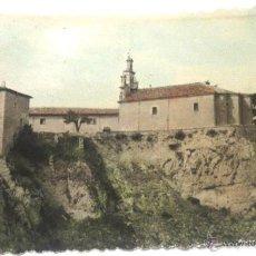 Postales: POSTAL SANTUARIO DE SANTA CASILDA (BRIVIESCA-BURGOS) FÉLIX CARRASCO AÑO 1964. Lote 45383705