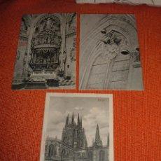 Postales: LOTE ANTIGUAS POSTALES DE BURGOS. Lote 45517076