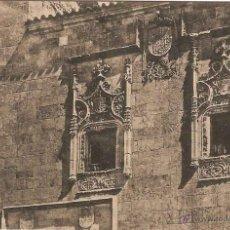 Cartoline: SALAMANCA, CASA DE LOS ALBAREA MALDONADO - FOTO LUIS SAUS - SIN CIRCULAR. Lote 45544355