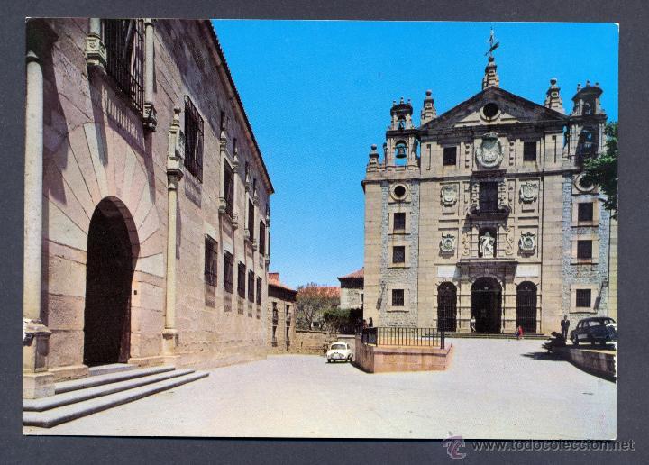 AVILA.- FACHADA PRINCIPAL DEL CONVENTO DE SANTA TERESA (Postales - España - Castilla y León Moderna (desde 1940))