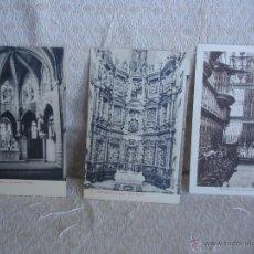 Postales: LOTE 3 POSTALES ASTORGA LEÓN. Lote 45576592