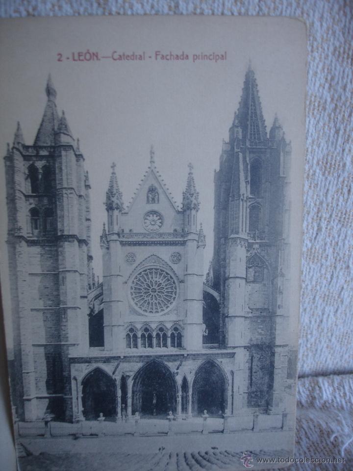 Postales: Lote de 7 postales: Catedral de León - Foto 2 - 45576879