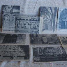 Postales: LOTE: 9 POSTALES DE LA CATEDRAL DE LEÓN. DETALLES. Lote 45577333