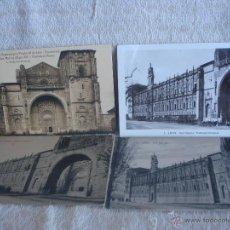 Postales: LOTE 4 POSTALES VARIADAS SAN MARCOS LEÓN. Lote 45578139