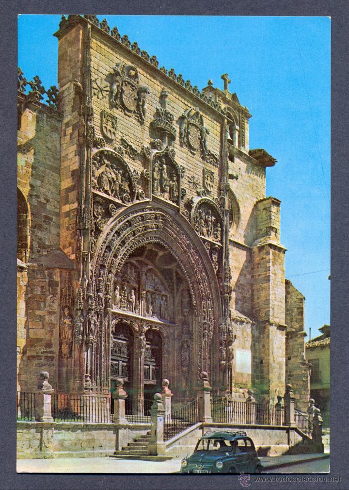ARANDA DE DUERO. FACHADA DE SANTA MARIA (Postales - España - Castilla y León Moderna (desde 1940))