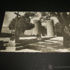 Postales: AVILA PUERTA DE SAN VICENTE. Lote 45652548